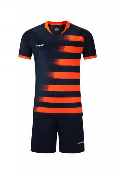 Купить Футбольная форма Europaw 021 т.сине-оранжевая