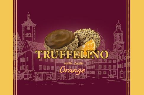 Конфеты TRUFFELLINO с начинкой со вкусом апельсина