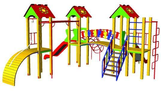 Купить Детский игровой комплекс Малыш БК-706М