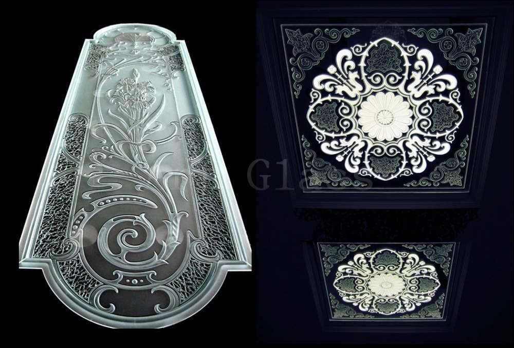 Стекло декоративное, стекло декорированное, стекло художественное, яркие интерьеры из стела