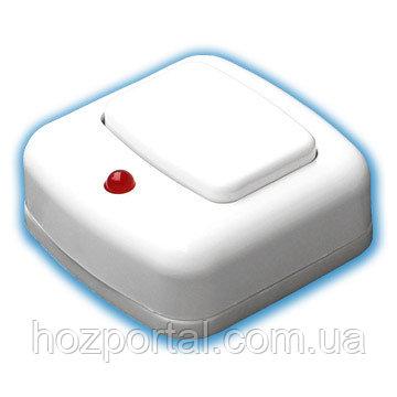 Купить Выключатель для звонка с индикацией Беларусь