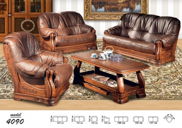 Leather Sofa And Two Chairs Model 48 Leather Furniture Free Fascinating Shipping Furniture Model