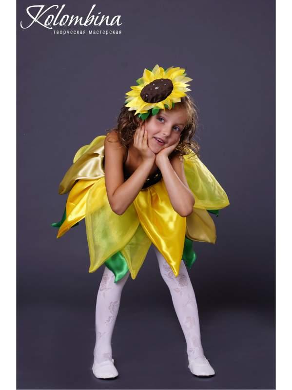 Костюм цветка для девочки своими руками