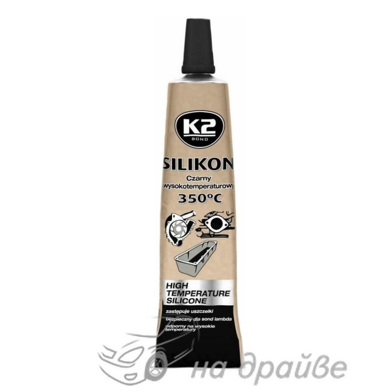 Купить Герметик силиконовый высокотемпературный черный Silicone Black 21гр B205 К2