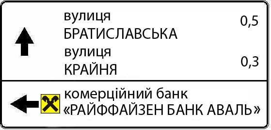 Знаки індивідуального проектування, Київ, ціна