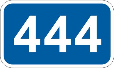 Знак километровый