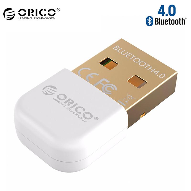 Купить USB Bluetooth адаптер ORICO беспроводной передатчик bluetooth 4.0 для компьютера, ноутбука BTA-403-WH (Белый)