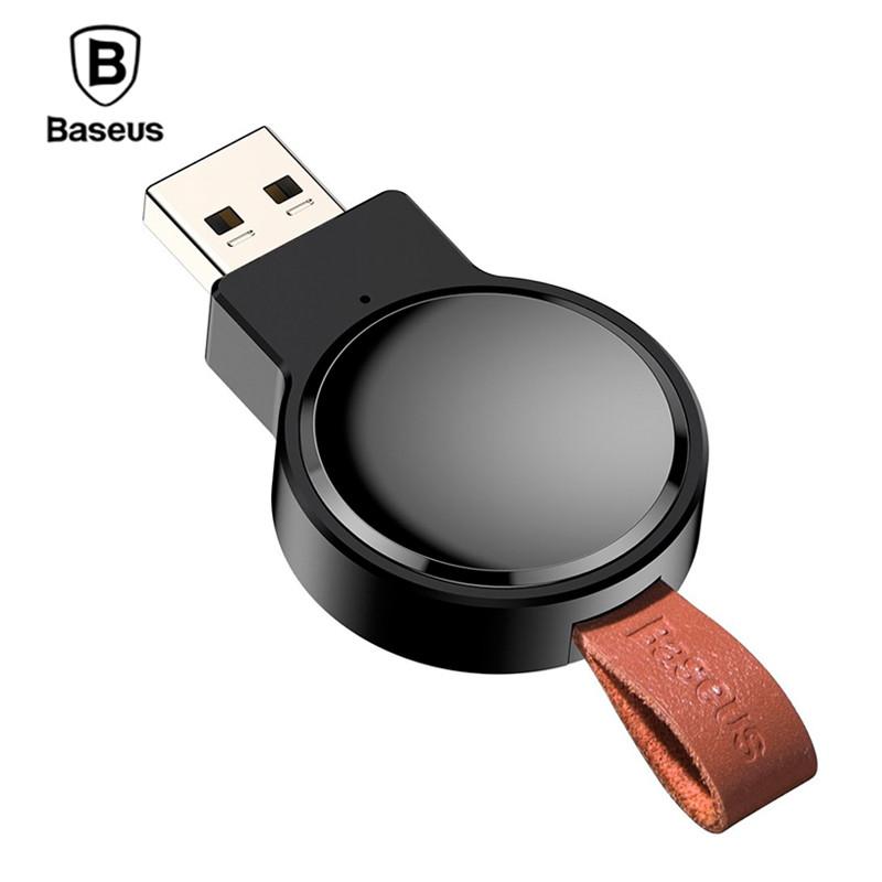 Купить Беспроводное зарядное устройство для Apple Watch Baseus Wireless Charger Dotter WXYDIW02-01 (Черное)