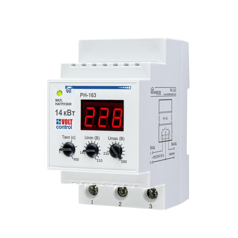 Купить Реле напряжения РН-163 «Volt Control» 63А