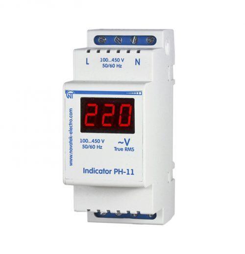 Купить Однофазный цифровой индикатор напряжения РН-11