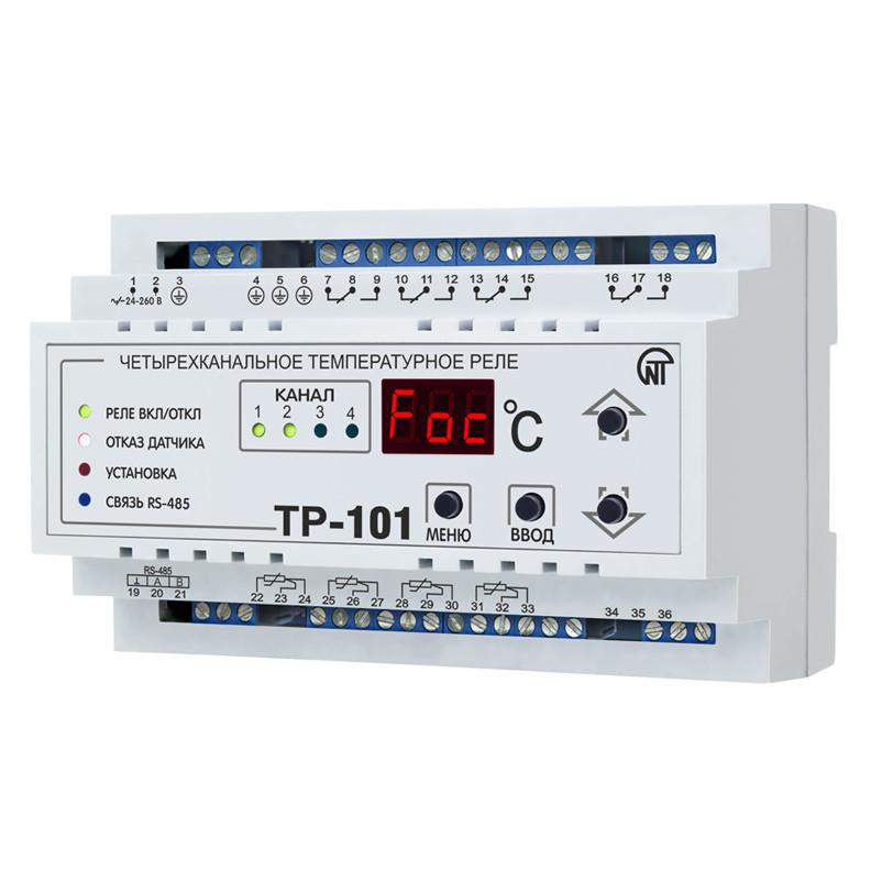 Купить Цифровое температурное реле ТР-101