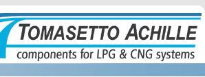 Купить Оборудование газобалонное Тomasetto, продажа, установка в Житомире