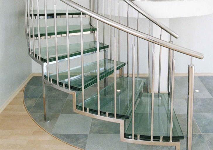 Лестницы для дома из натурального камня, лестницы стеклянные, лестницы металлические