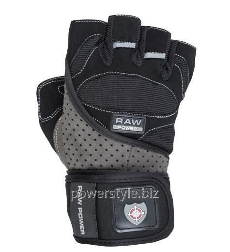 Купить Перчатки для тяжелой атлетики Power System Raw Power PS-2850 M Black/Grey