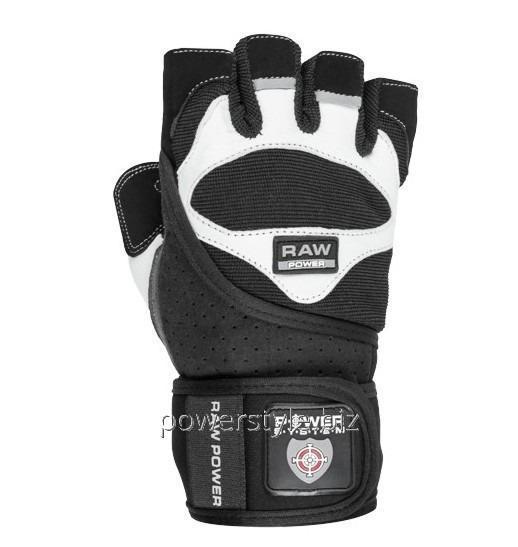 Купить Перчатки для тяжелой атлетики Power System Raw Power PS-2850 M Black/White