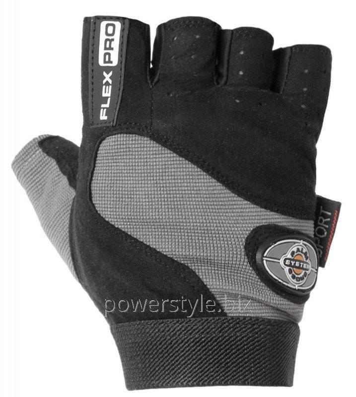 Перчатки для фитнеса и тяжелой атлетики Power System Flex Pro PS-2650 L Black