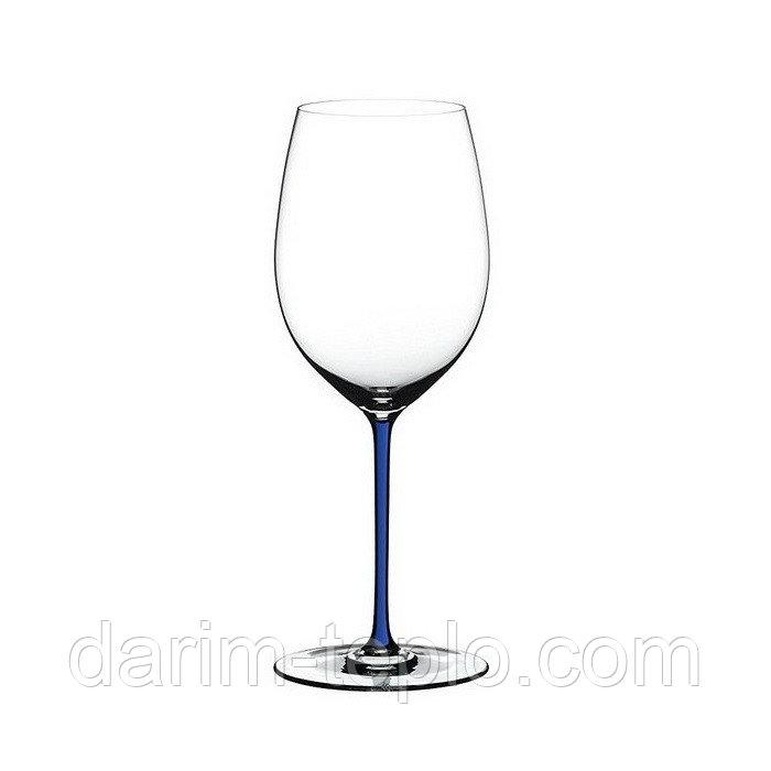 Купить Бокал Riedel Cabernet/Merlot 625 мл, с синей ножкой 4900/0D