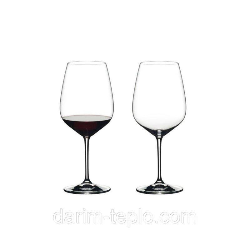 Купить Набор бокалов для красного вина Cabernet-Sauvignon Riedel объем 0,8 л, 2 шт 6409/0