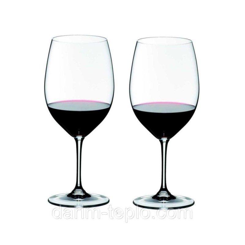 Купить Набор бокалов для красного вина Riedel VINUM, объем 0,6 л, 2 шт 6416/00