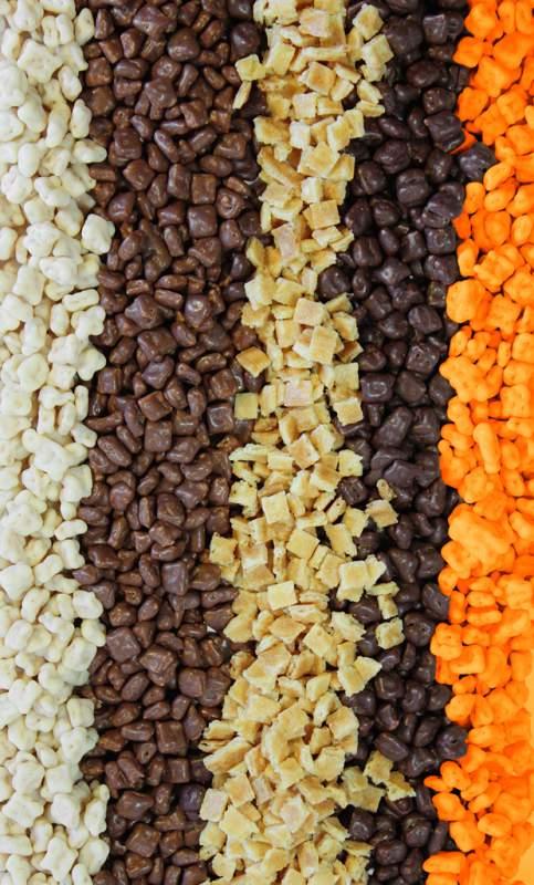 Купить Рисовые шарики 3-4 мм в белом шоколаде