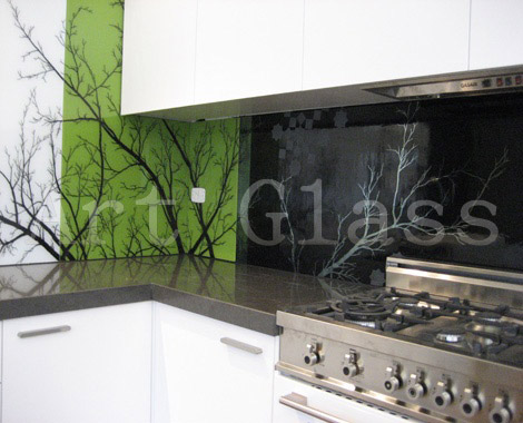 Buy Kitchen from glass, a kitchen apron from glass