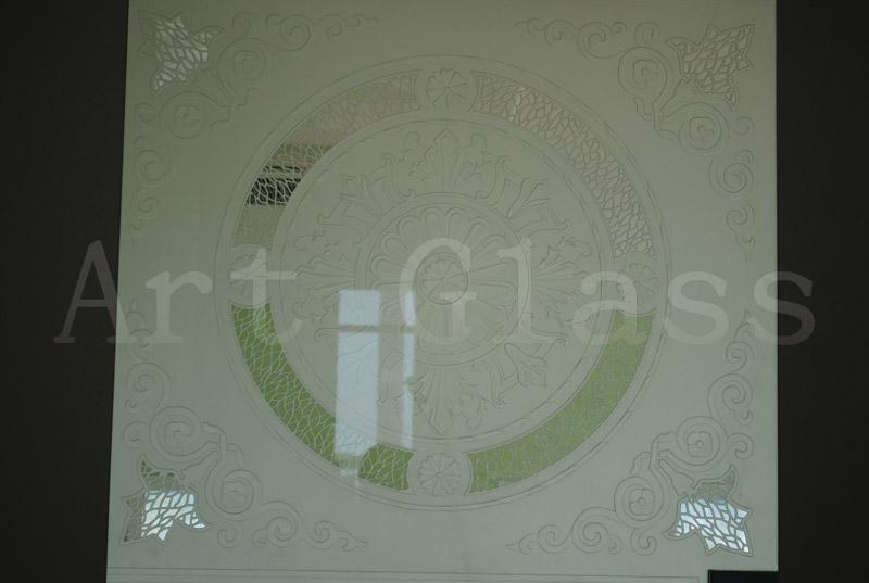 Стекло пескоструйное, художественная обработка и декорирование стекла
