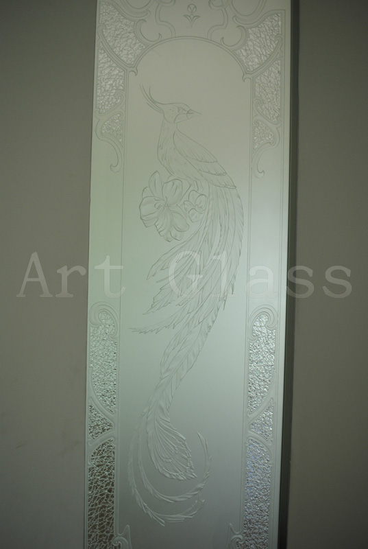 Стекло матовое, матирование стекла, художественный декор по стеклу