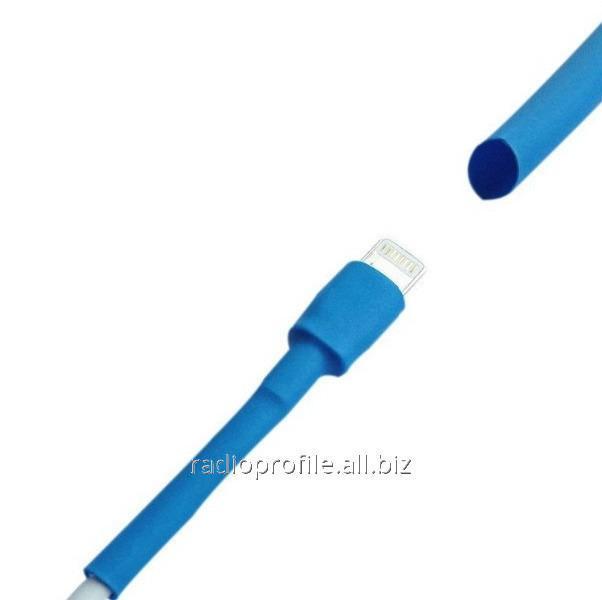 Купить Термоусадка W-1-H 16,0/8,0мм, 1метр, WOER, в упаковке 50 шт. синий
