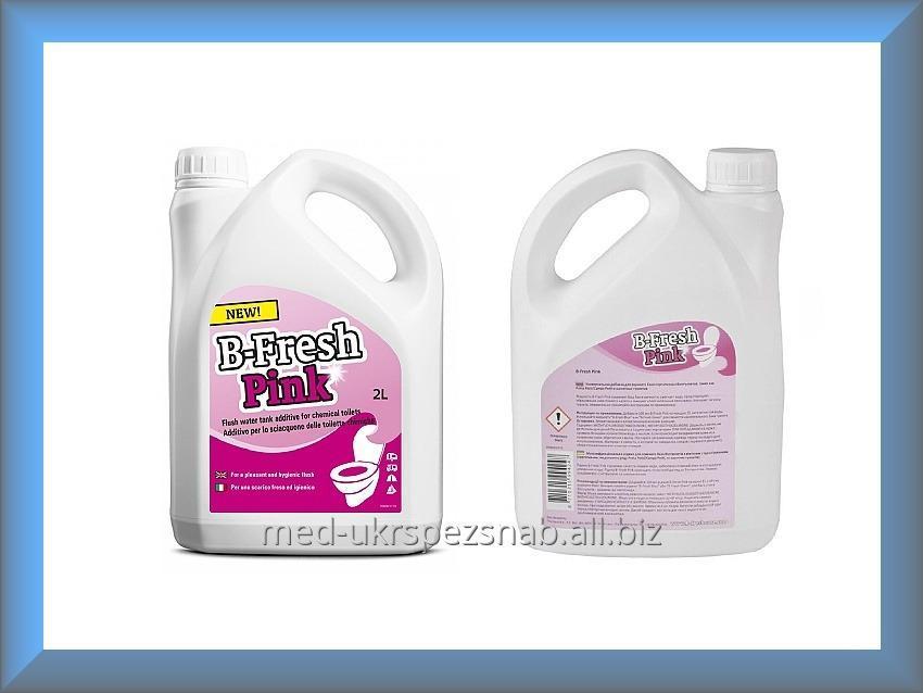 Купить Жидкость для биотуалетов Тетфорд Би Фреш Пинк 2 л (для верхнего бака)