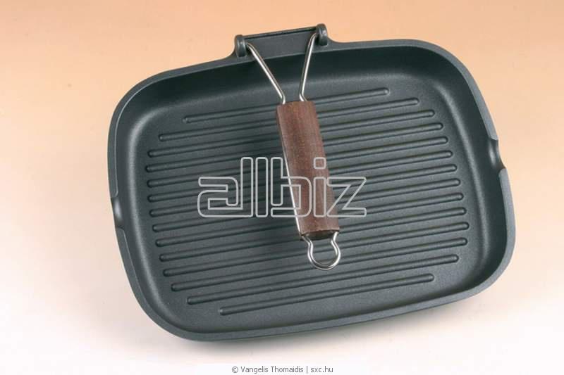 Правила пользования чугунной сковородой гриль 9 фотография