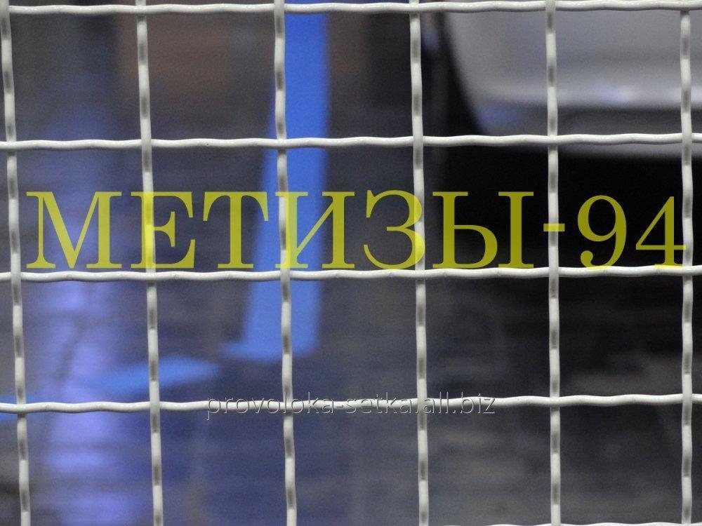 Купить Сетка канилированная 100х100х5 оцинкованная (сложно-рифленая), канилированная сетка 100*100*5