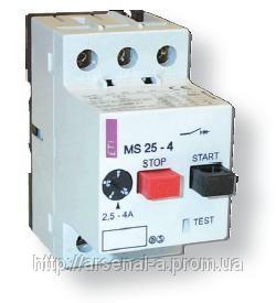 Купить Выключатели автоматические низковольтные , Автоматические выключатели для защиты двигателей MS (ETI)