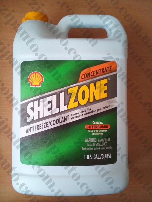Купить Антифриз концентрат SHELLZONE Coolant G11 зеленый -80C 1 GAL