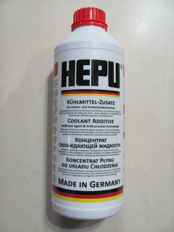 Купить Антифриз концентрат HEPU 1.5L красный G12