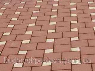 Купить Тротуарная плитка | Золотой Мандарин | Квадрат 200х200 | Высота 60 мм