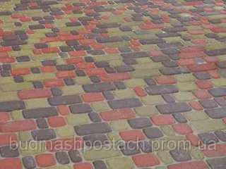 Купить Тротуарная плитка | Золотой Мандарин | Старый город | Высота 80 мм