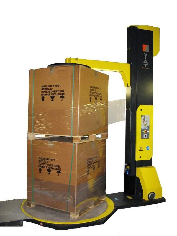 Buy Palletoupakovshchik SW2-3000P SIAT with the clamping device and packaging up to 3000 mm high