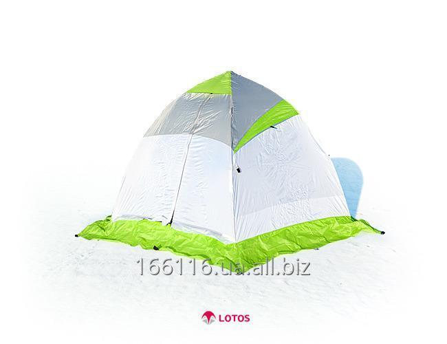 Для зимней рыбалки палатка зимняя lotos