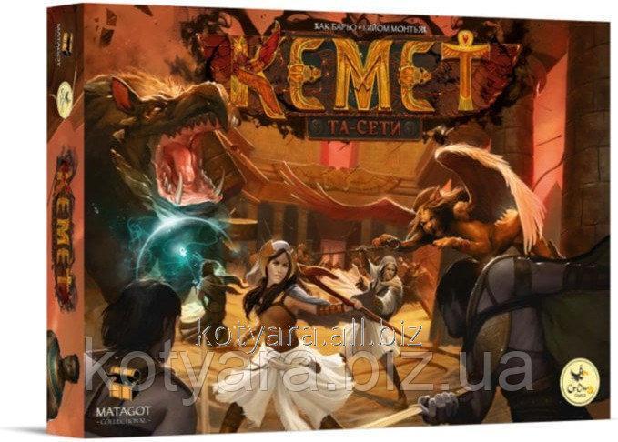 Купить Настольная игра Crowd Games Кемет: Та-сети (Kemet: Ta-seti)