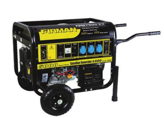 Как завести генератор бензиновый видео бензиновый