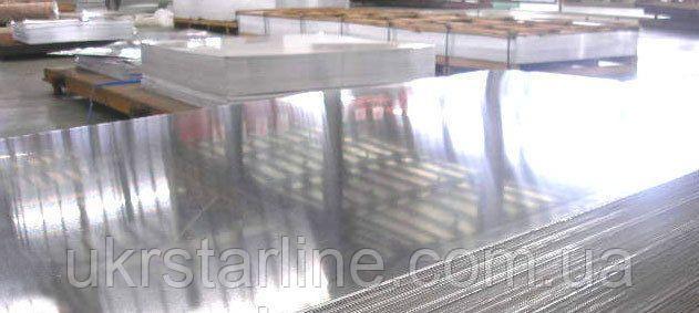 Алюминиевый лист Д16Т 20х1500х3000мм дюралевый лист.