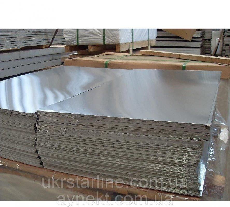 Алюминиевый лист Д16Т 3х1000х2000 мм Д16Т