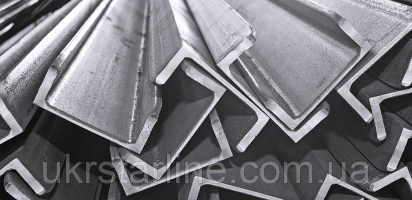 Алюминиевый швеллер, 45х42,5х2,0 мм, анод