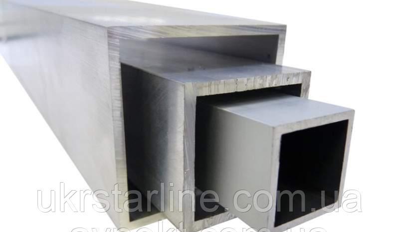 Алюмінієва труба квадратна 100x100x4 АД31