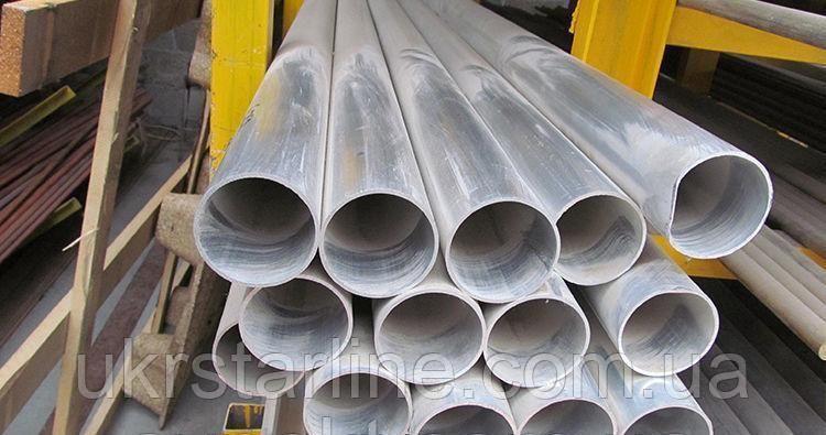 Алюмінієва труба кругла o 75x2.5 мм (анодированная)