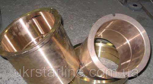 Втулка бронзовая БрА9Ж4Л, БрАЖН, О5Ц5С5, БрАМц, БрКМц, минимальная стенка 7 мм, от 5 до 7 дней.