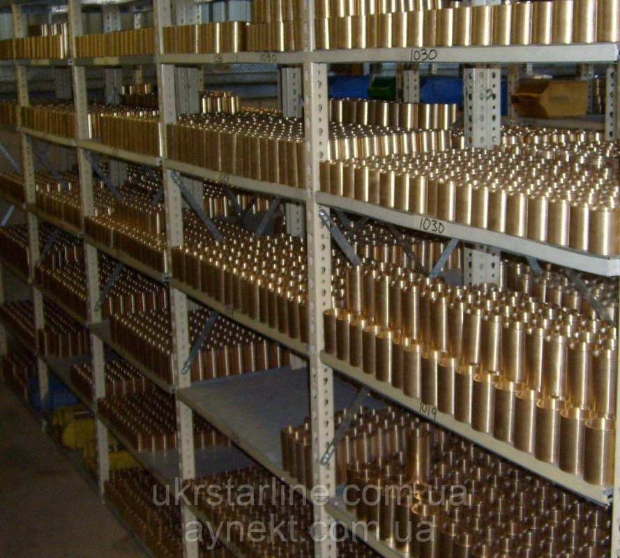 Втулка бронзовая от 5 до 7 дней, БрА9Ж4Л, ОЦС555, БрАЖН О5Ц5С5 делаем под заказ.