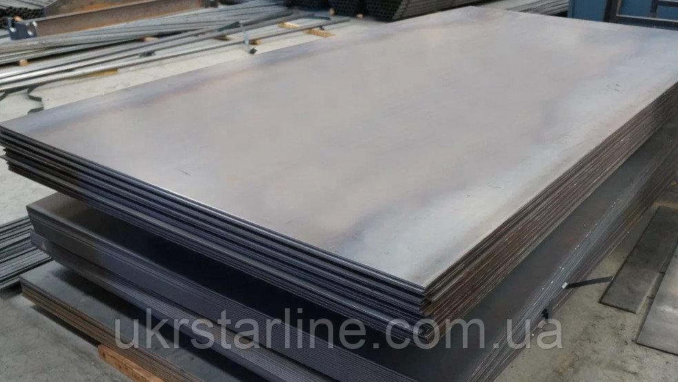 Гладкая листовая сталь 45, 45,0 мм