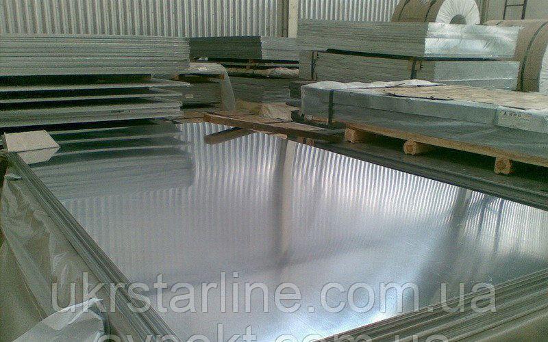 Дюралевый лист (алюминий) 4х1000х2000 Д16Т