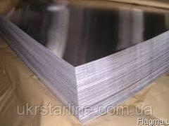 Дюралевый лист (марка 2024) 4х1500х4000 мм